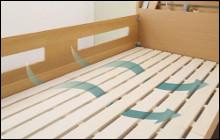 二段ベッドに何を敷く