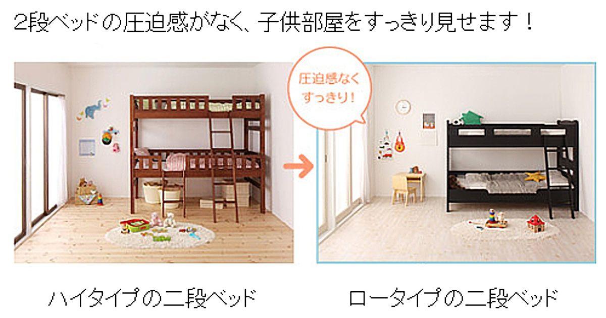 コンパクト二段ベッド