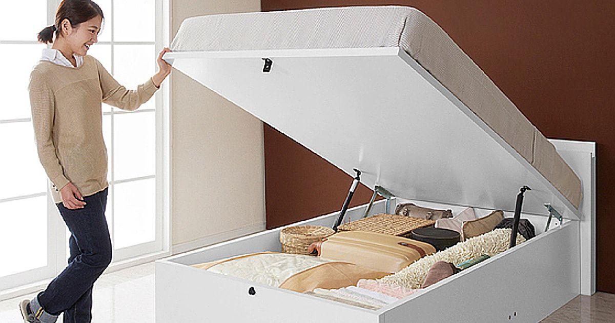 跳ね上げ式収納ベッドのメリットとデメリット