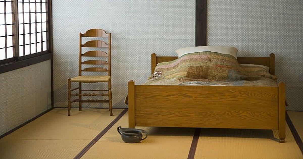 和室にベッドの注意点