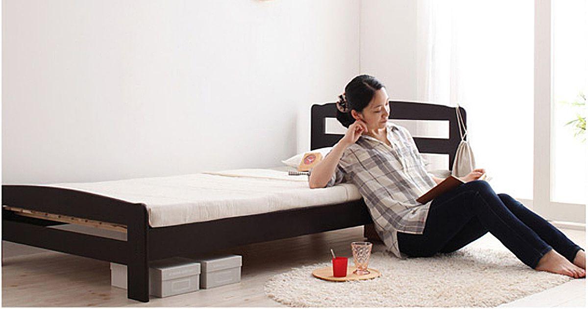 女性の一人暮らしのベッドサイズ