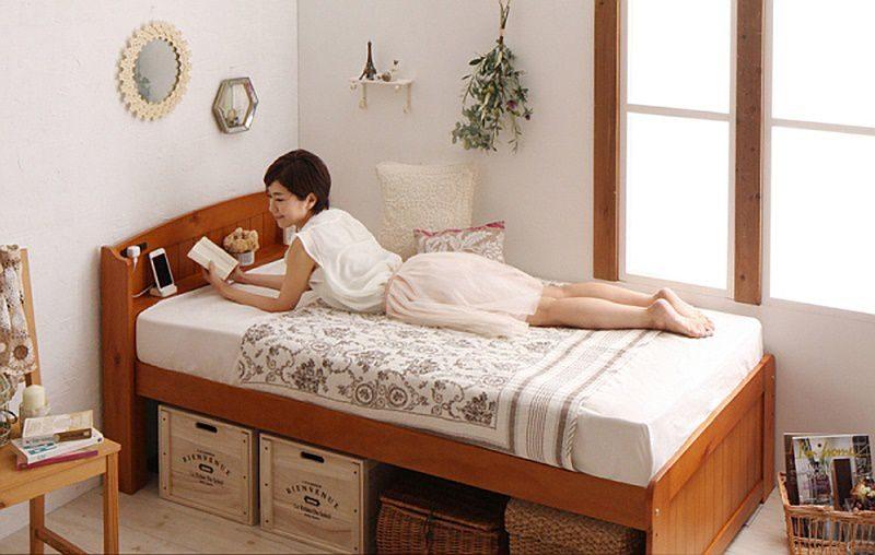 狭い部屋に置くベッド