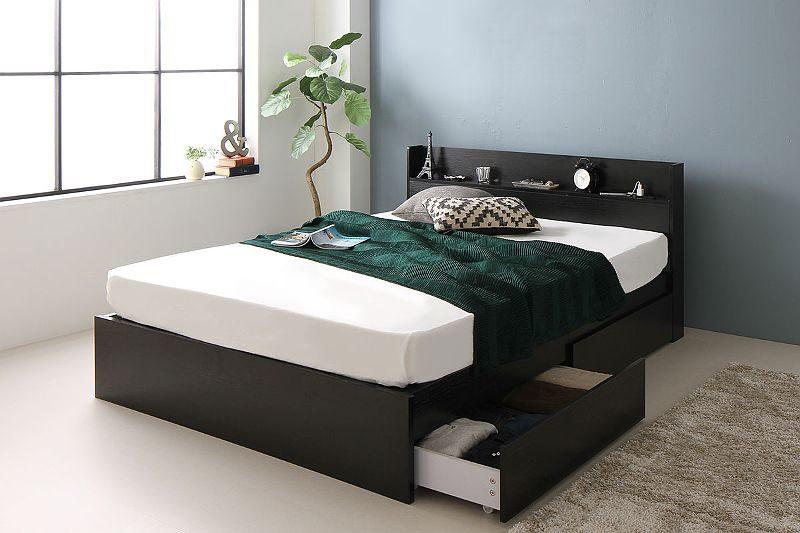 一人暮らしの収納ベッド